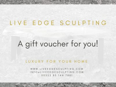 live edge sculpting voucher